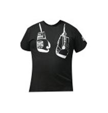 Camiseta guantes serigrafiados