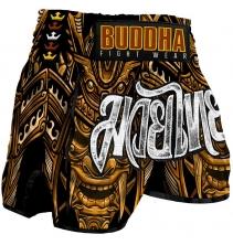 """Short  Buddha """"Retro Inca"""""""