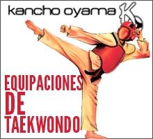 Equipaciones de Taekwondo